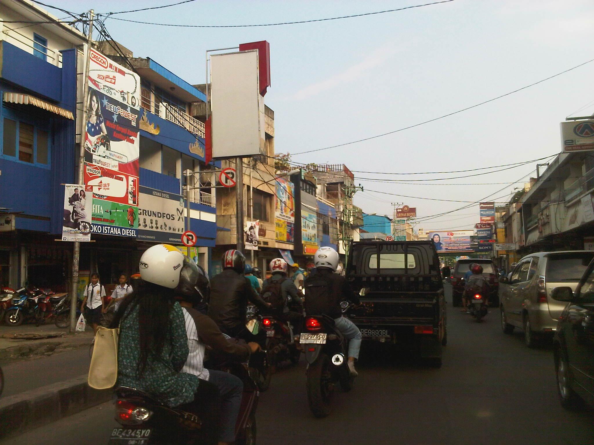 Bandar Lampung Indonesia  City pictures : Motor Pun Meruyak di Lampung | Edo Rusyanto's Traffic