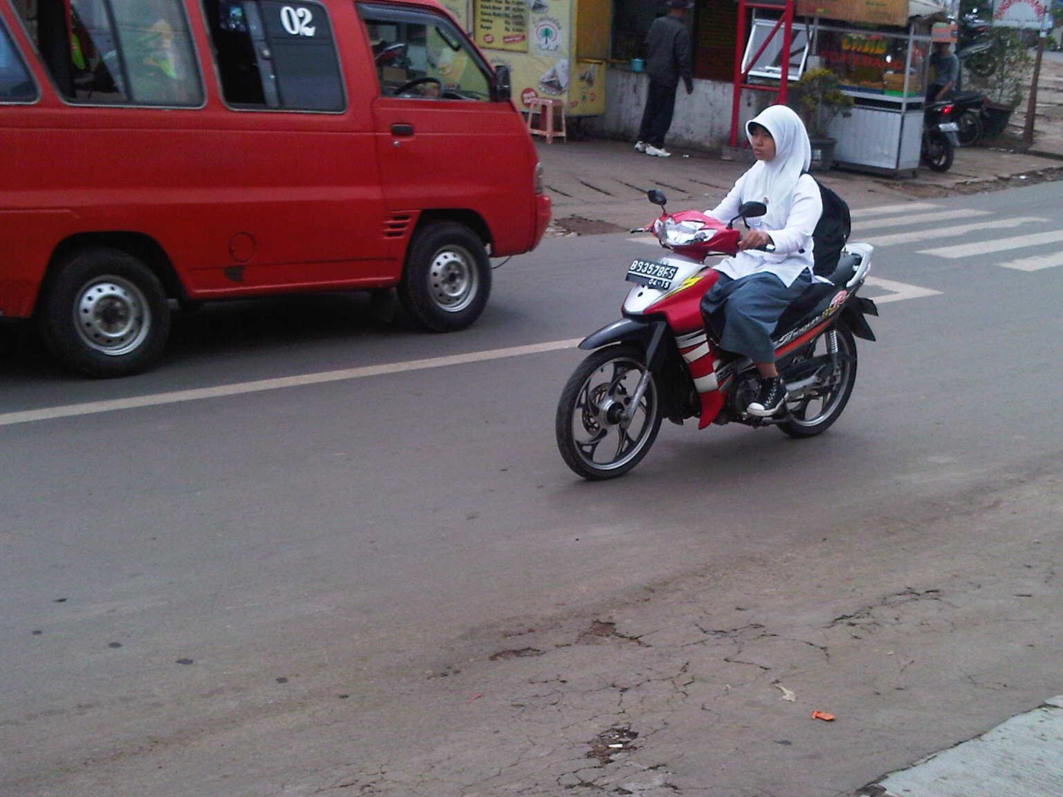 Anak Diberi Motor Agar Aman Edo Rusyantos Traffic