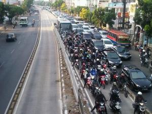 mampang busway motor 2