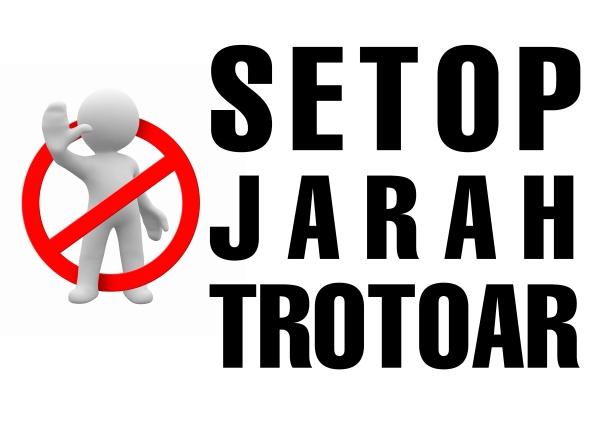 signboard-jarahtrotoar_lsw rsa 2013