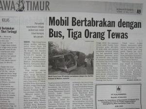laka berita koran tempo