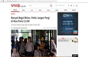 begal motor berita viva