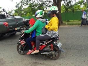 anak di motor