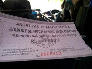 sinar jaya bandara_tiket