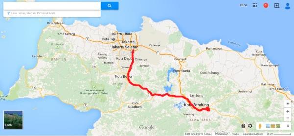 rute jakarta bandung via cianjur