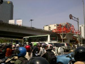 kemacetan jakarta 2015