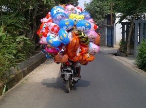 balon di motor