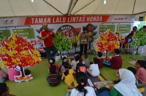 honda mendongeng safety 2015