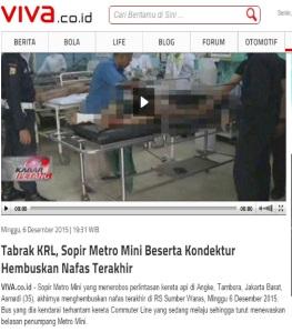 metro mini nabrak krl_vivacoid