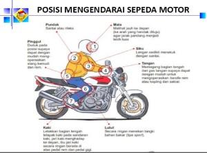 posisi bersepeda motor1