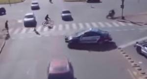 video unik lalin